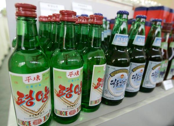 north korean beer