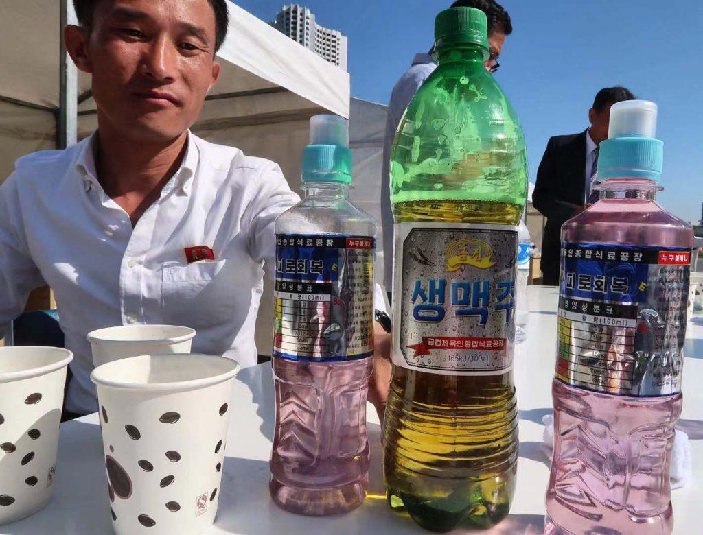 north korean potato soda