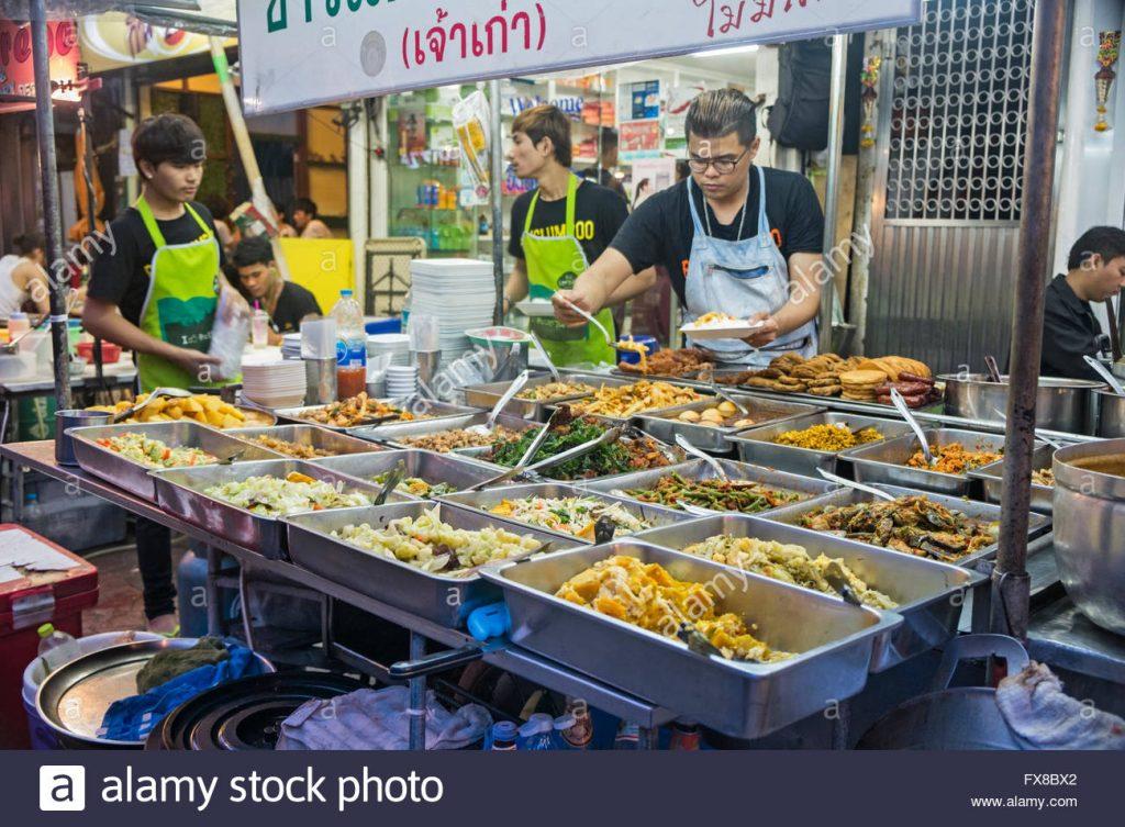 Negara mana yang memiliki Makanan Jalanan terbaik