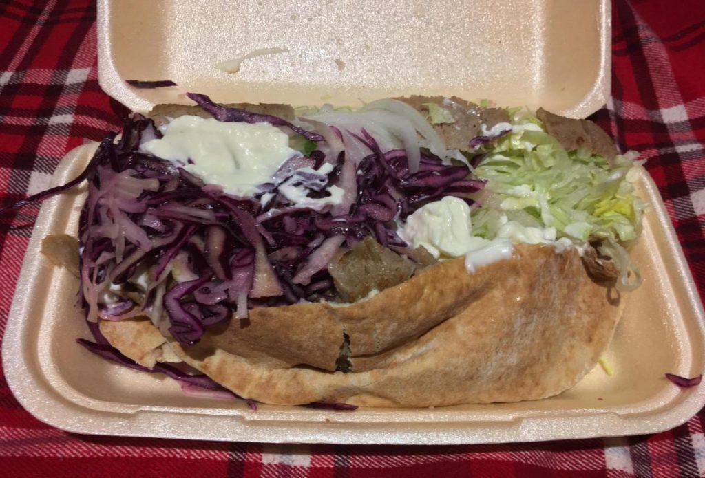 the famous English Kebab