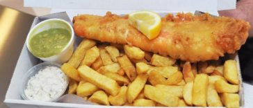 fish and chips - Street Food Uk