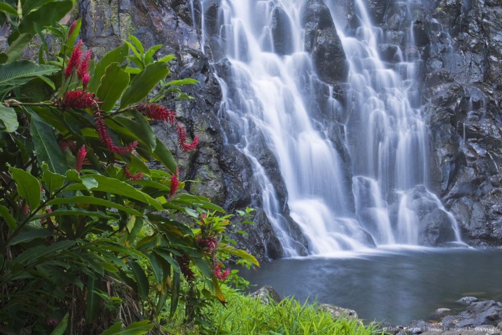 Waterfall in Pohnpei