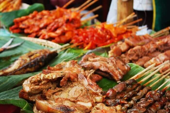 Pampanga street food