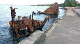Shipwreck in Honiara