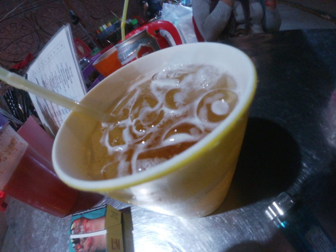 beer on ice - best alcoholic drinks in Cambodia