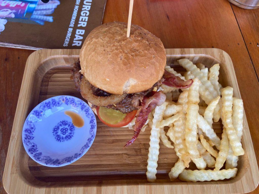 The best burger in Kampot?