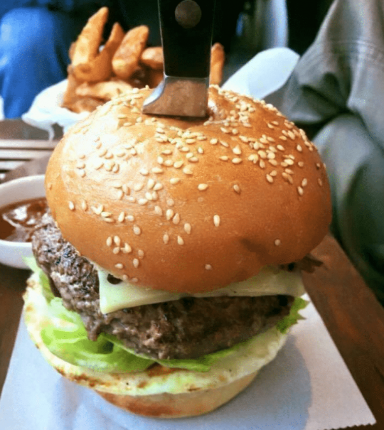 best burger in Phnom Penh