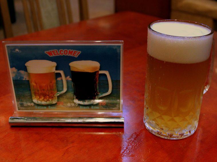 Koryo Hotel Yellow Beer