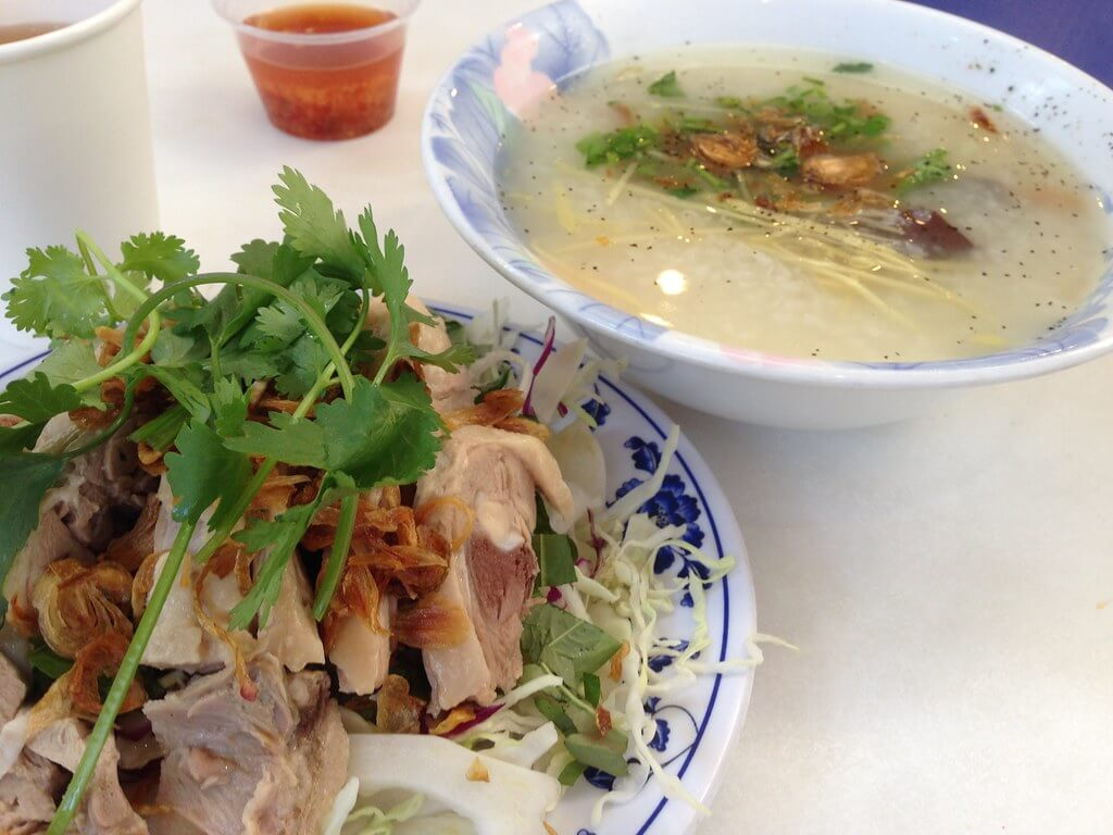 vietnamese duck porridge - vietnam