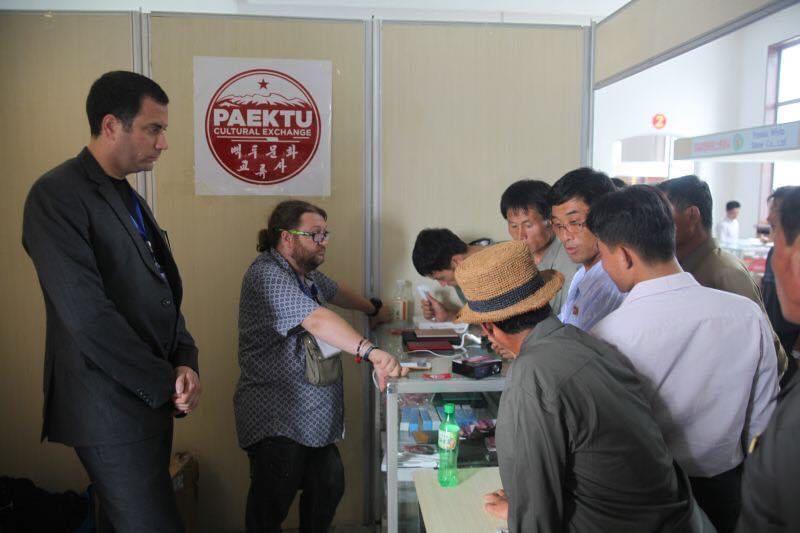 North Korean Potato Soda at Rason Trade Fair