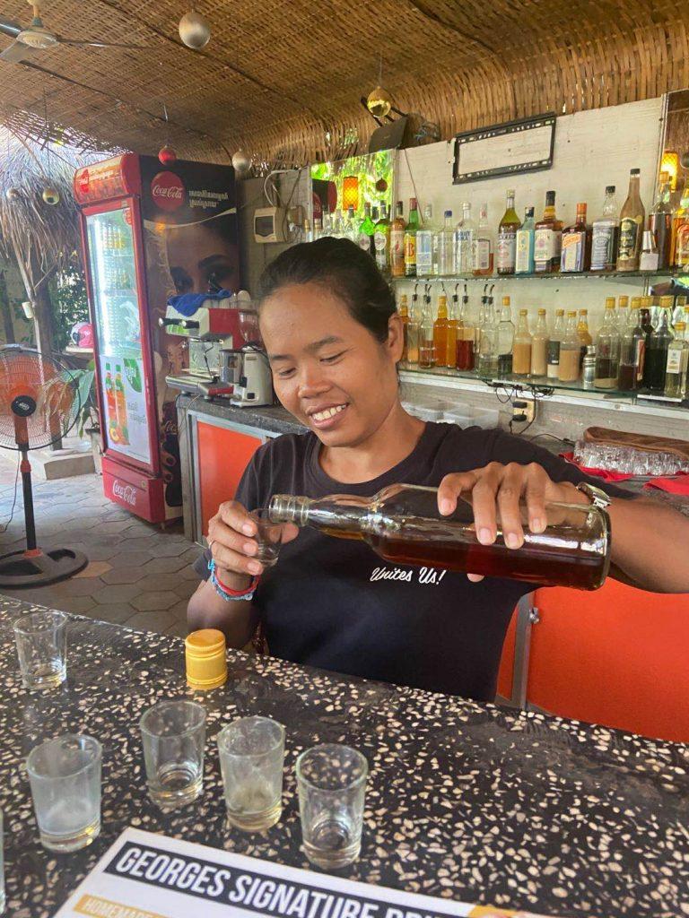rum tasting in Siem Reap