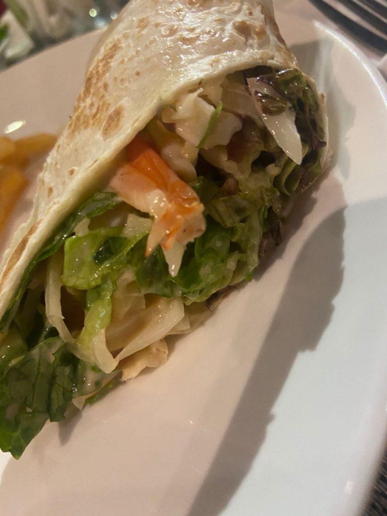 seafood shawarma