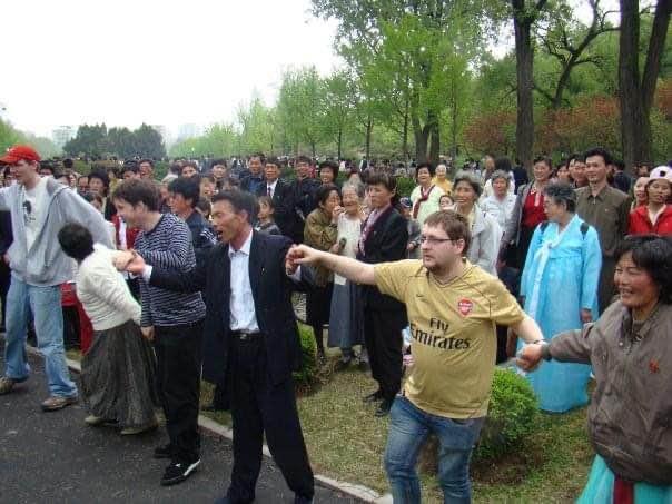 may day celebration north korea