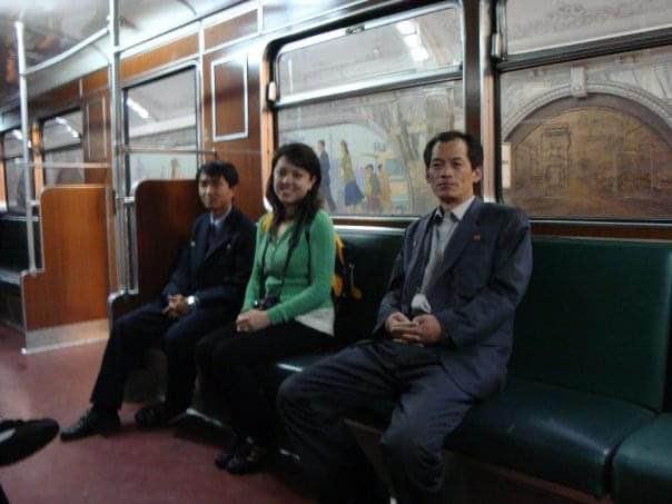 train in north korea