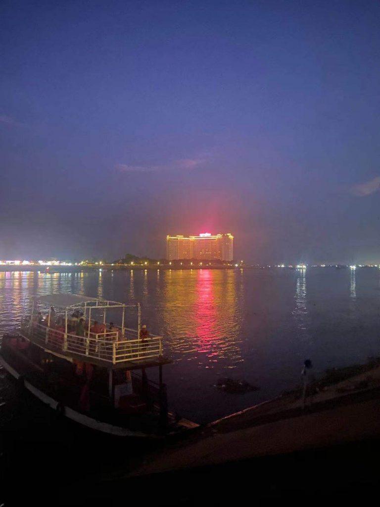 Riverside in Phnom Penh