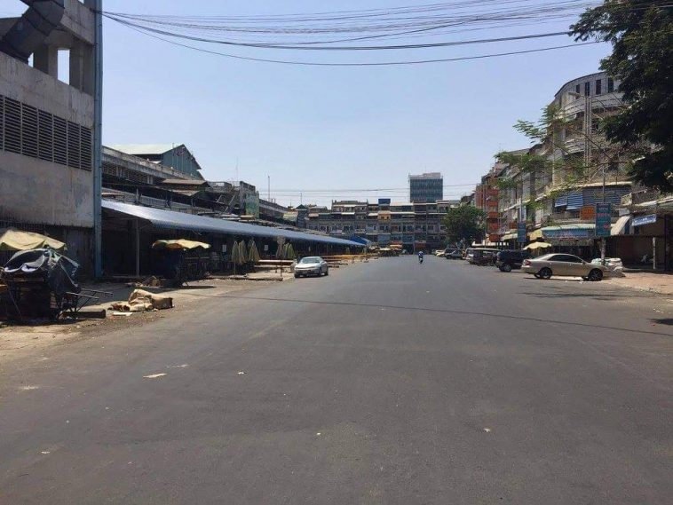 Empty Phnom Penh