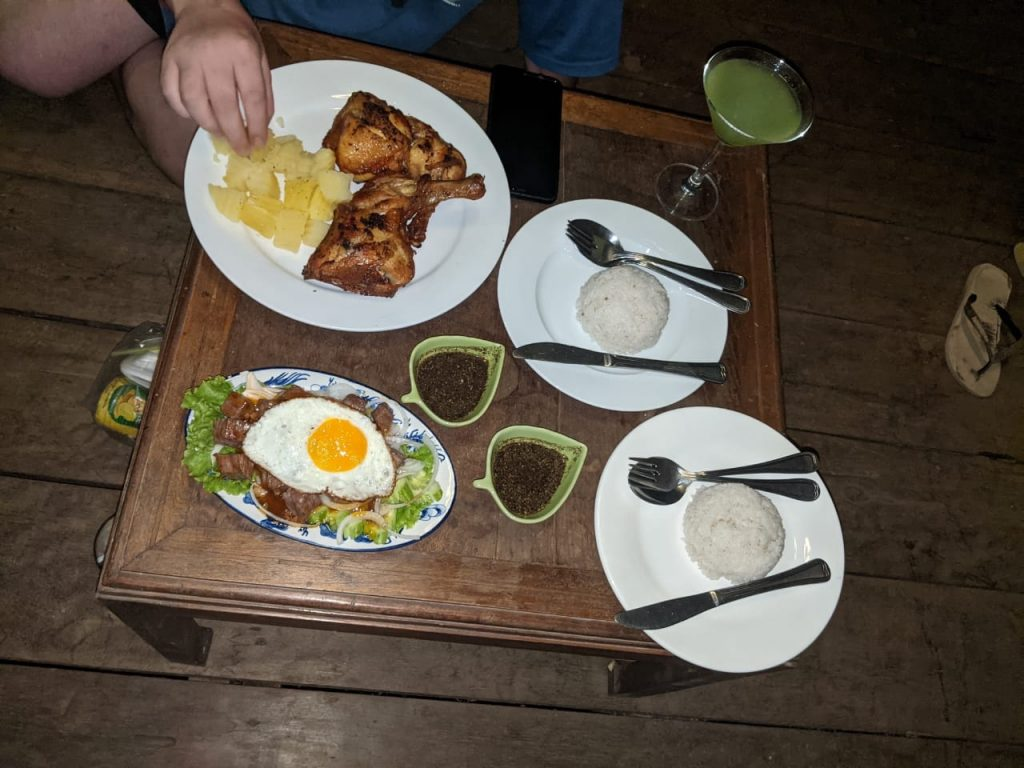 Dinner at Rajabori Villas Koh Trong 2