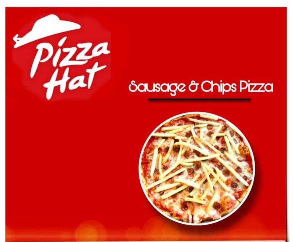 Fast food knock-offs Pizza Hat