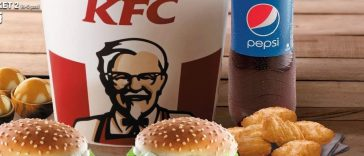 Which countries do and don't have KFC
