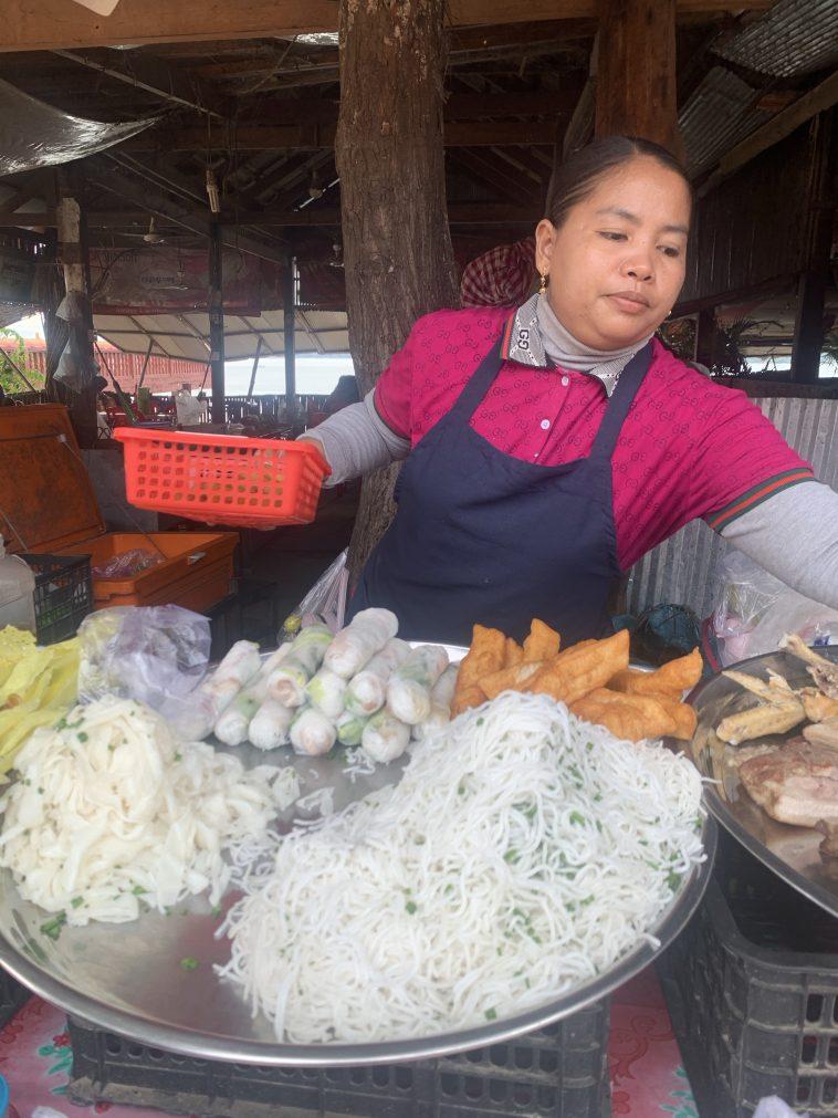 Street food Kratie