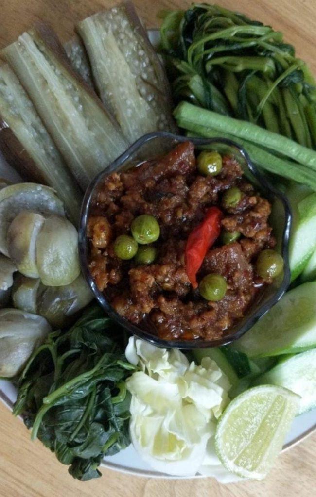 Fermented fish prahok