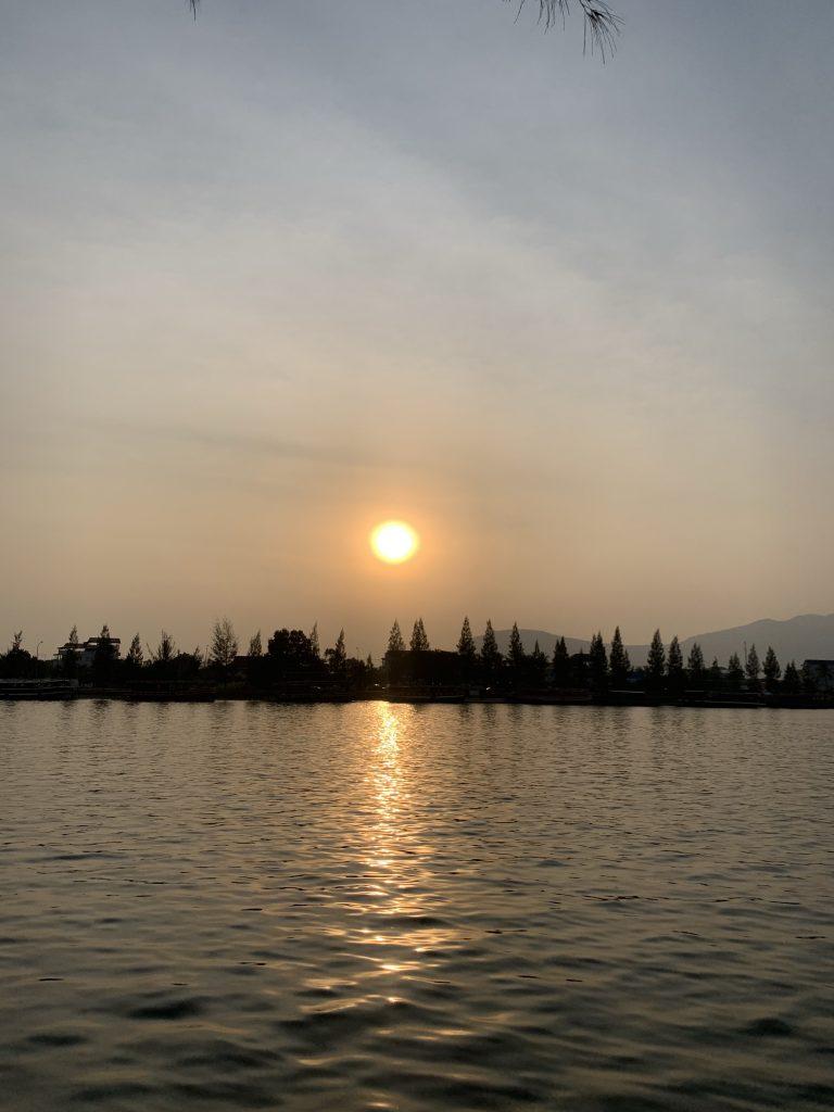 best 5 sunsets in Kampot