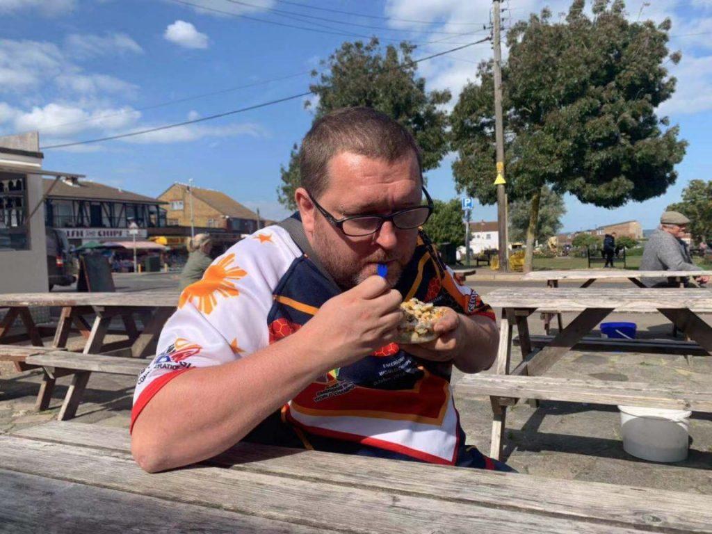 Makanan jalanan Inggris - Sheppey